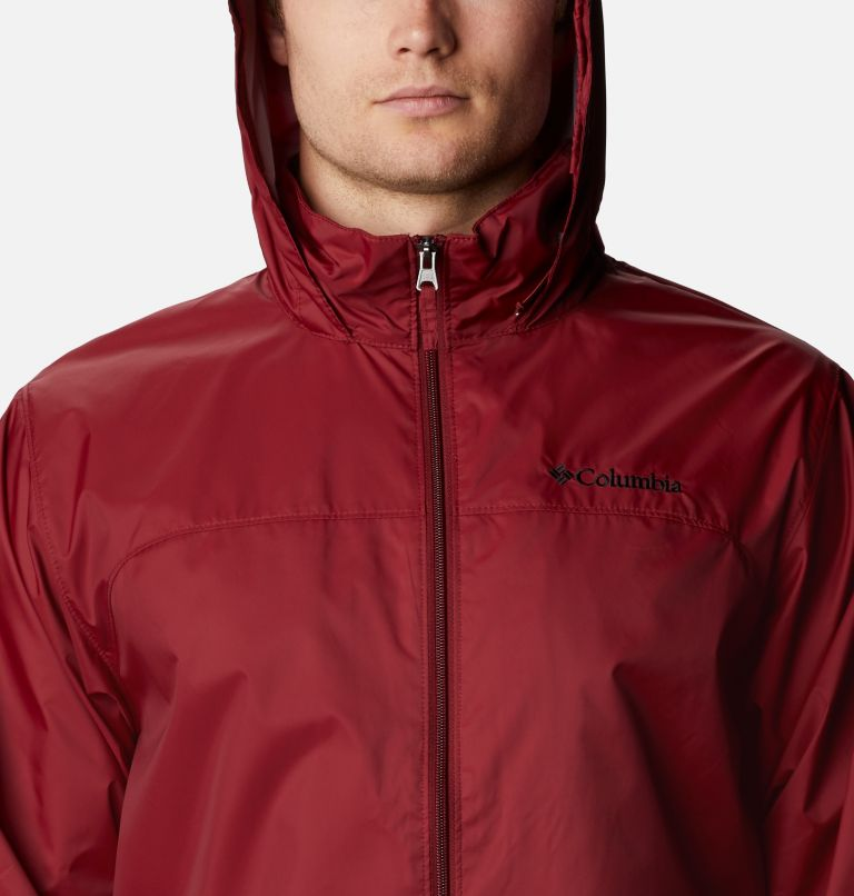 Glennaker Lake™ Rain Jacket | 665 | XL Men's Glennaker Lake™ Rain Jacket, Red Jasper, a2