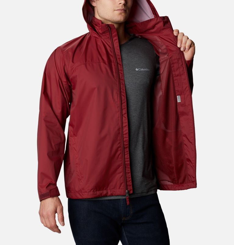 Glennaker Lake™ Rain Jacket | 665 | XL Men's Glennaker Lake™ Rain Jacket, Red Jasper, a3