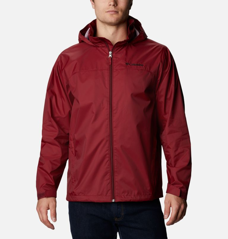 Glennaker Lake™ Rain Jacket | 665 | XL Men's Glennaker Lake™ Rain Jacket, Red Jasper, front