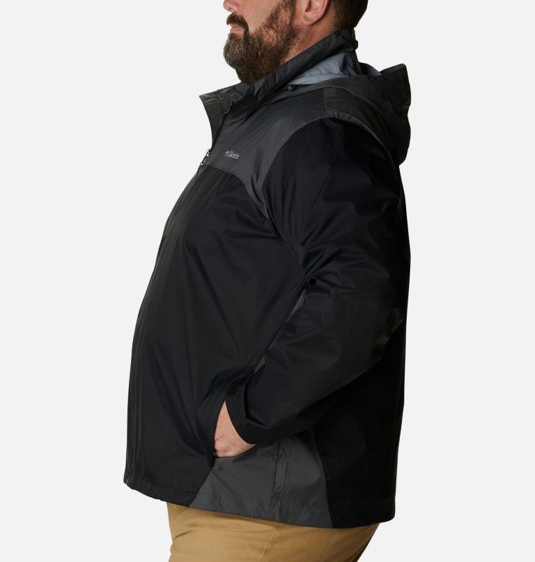 Glennaker Lake™ Rain Jacket   010   5X Men's Glennaker Lake™ Rain Jacket - Big, Black, Grill, a1