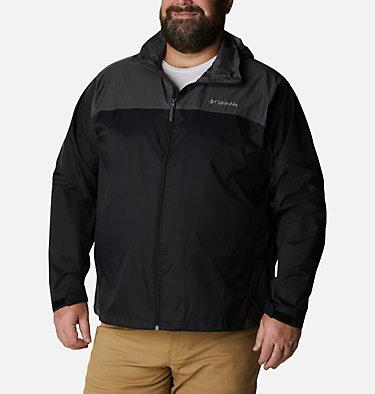 Men's Glennaker Lake™ Rain Jacket - Big Glennaker Lake™ Rain Jacket | 820 | 4X, Black, Grill, front