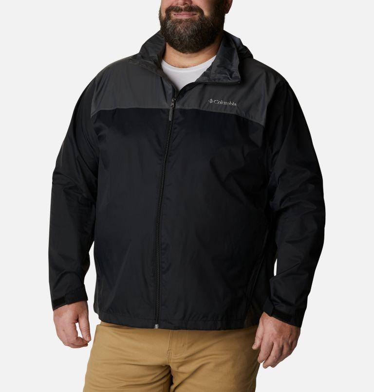 Glennaker Lake™ Rain Jacket   010   5X Men's Glennaker Lake™ Rain Jacket - Big, Black, Grill, front