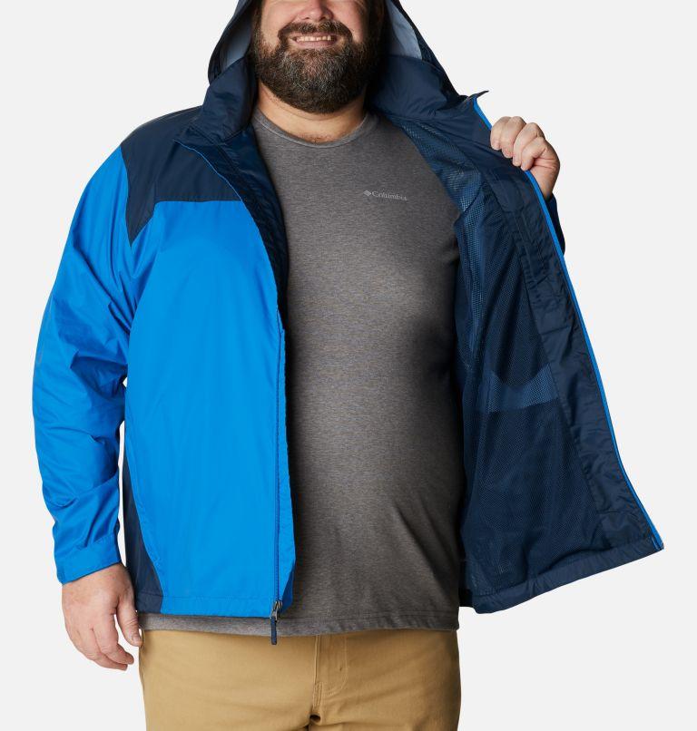 Glennaker Lake™ Rain Jacket | 072 | 5X Men's Glennaker Lake™ Rain Jacket - Big, Blue Jay, Columbia Navy, a3
