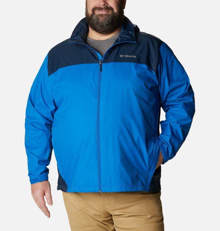Glennaker Lake™ Rain Jacket | 072 | 5X Men's Glennaker Lake™ Rain Jacket - Big, Blue Jay, Columbia Navy, front