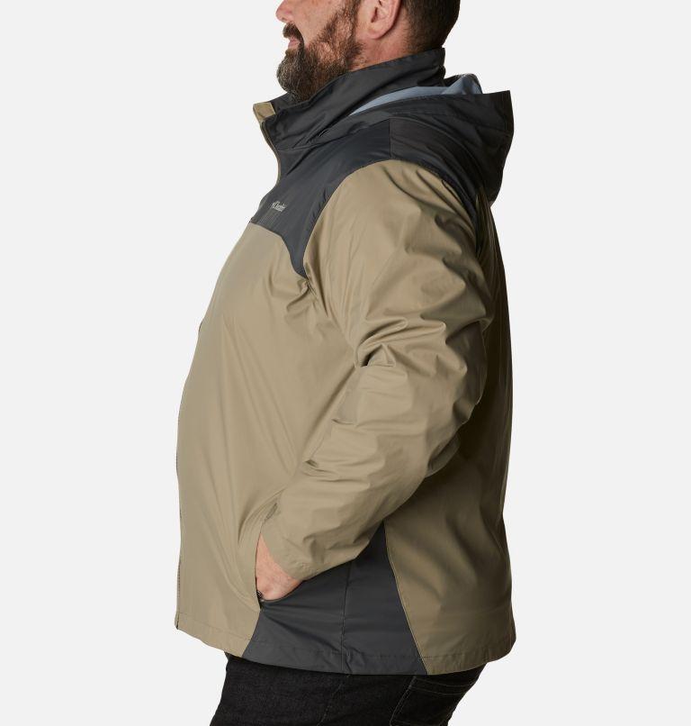 Glennaker Lake™ Rain Jacket | 221 | 3X Men's Glennaker Lake™ Rain Jacket - Big, Tusk, Grill, a1