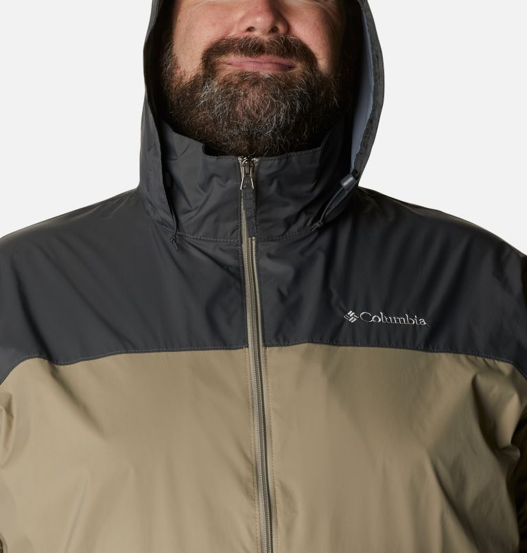 Glennaker Lake™ Rain Jacket | 221 | 6X Men's Glennaker Lake™ Rain Jacket - Big, Tusk, Grill, a2