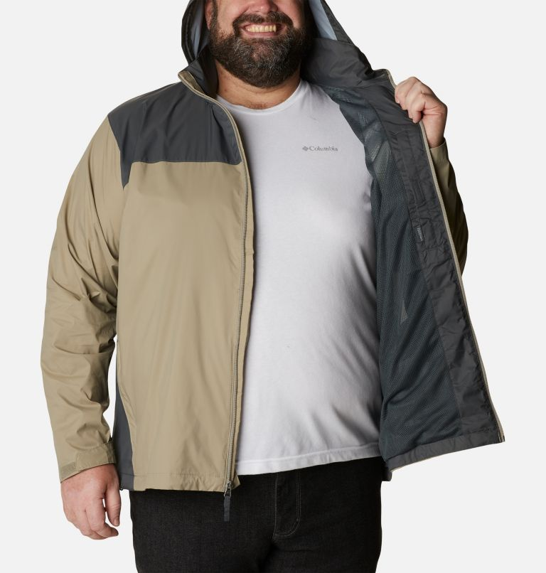 Glennaker Lake™ Rain Jacket | 221 | 6X Men's Glennaker Lake™ Rain Jacket - Big, Tusk, Grill, a3