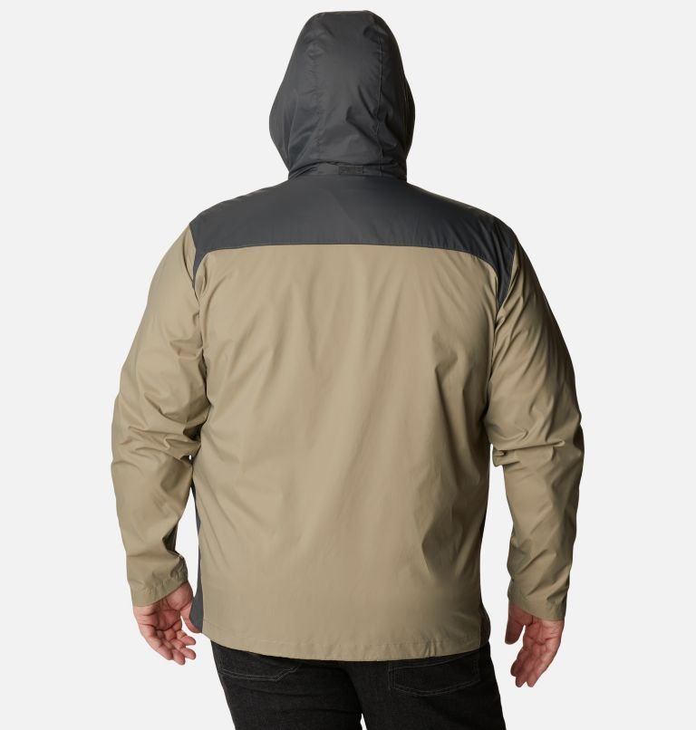 Glennaker Lake™ Rain Jacket | 221 | 6X Men's Glennaker Lake™ Rain Jacket - Big, Tusk, Grill, back