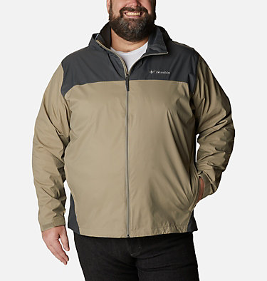 Men's Glennaker Lake™ Rain Jacket - Big Glennaker Lake™ Rain Jacket | 820 | 4X, Tusk, Grill, front