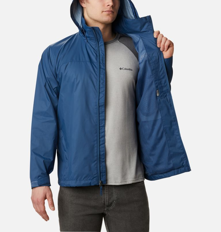 Glennaker Lake™ Rain Jacket | 452 | 5X Men's Glennaker Lake™ Rain Jacket - Big, Night Tide, a3