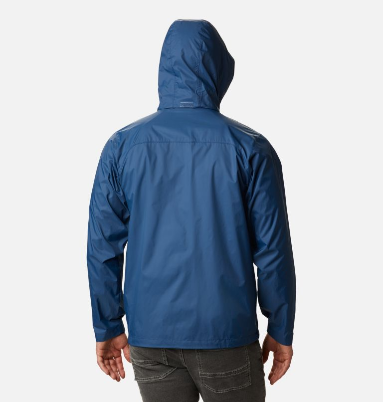 Glennaker Lake™ Rain Jacket | 452 | 5X Men's Glennaker Lake™ Rain Jacket - Big, Night Tide, back