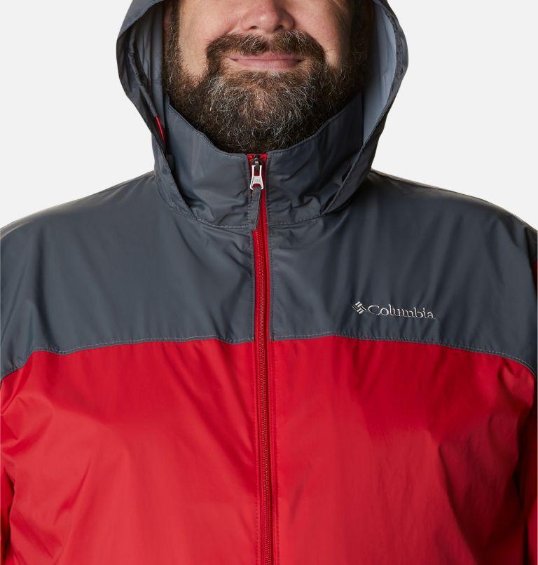 Glennaker Lake™ Rain Jacket | 613 | 5X Men's Glennaker Lake™ Rain Jacket - Big, Mountain Red, Graphite, a2