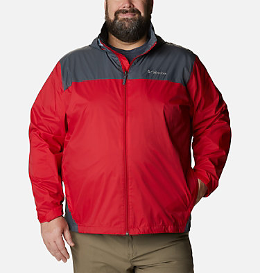 Men's Glennaker Lake™ Rain Jacket - Big Glennaker Lake™ Rain Jacket | 820 | 4X, Mountain Red, Graphite, front