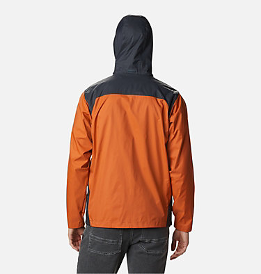 Men's Glennaker Lake™ Rain Jacket - Big Glennaker Lake™ Rain Jacket | 820 | 4X, Harvester, Shark, back
