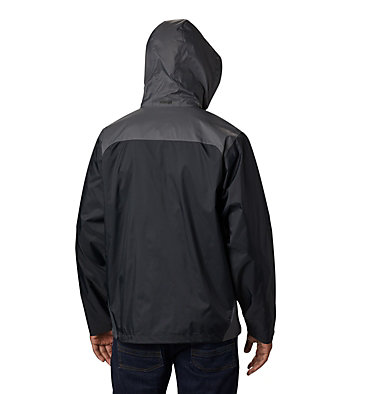 Men's Glennaker Lake™ Rain Jacket - Tall Glennaker Lake™ Rain Jacket | 820 | LT, Black, Grill, back