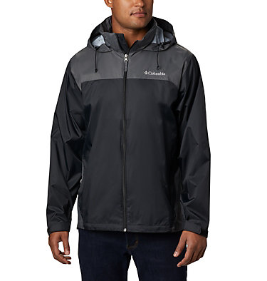 Men's Glennaker Lake™ Rain Jacket - Tall Glennaker Lake™ Rain Jacket | 820 | LT, Black, Grill, front
