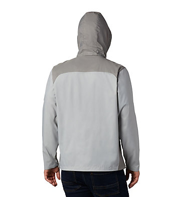 Men's Glennaker Lake™ Rain Jacket - Tall Glennaker Lake™ Rain Jacket | 820 | LT, Columbia Grey, Boulder, back