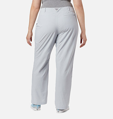 Women's PFG Aruba™ Roll Up Pants - Plus Size Aruba™ Roll Up Pant | 031 | 16W, Cirrus Grey, back