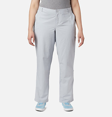 Women's PFG Aruba™ Roll Up Pants - Plus Size Aruba™ Roll Up Pant | 031 | 16W, Cirrus Grey, front