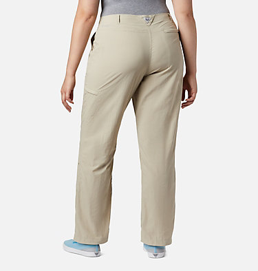 Women's PFG Aruba™ Roll Up Pants - Plus Size Aruba™ Roll Up Pant | 031 | 16W, Fossil, back