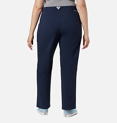Women's PFG Aruba™ Roll Up Pants - Plus Size Aruba™ Roll Up Pant | 031 | 16W, Collegiate Navy, back