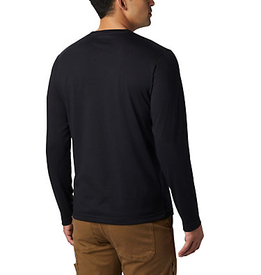 Men's Thistletown Park™ Long Sleeve Crew Neck Shirt Thistletown Park™ Long Sleeve Crew | 467 | XXL, Black, back