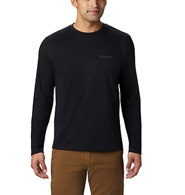 Men's Thistletown Park™ Long Sleeve Crew Neck Shirt Thistletown Park™ Long Sleeve Crew | 467 | XXL, Black, front