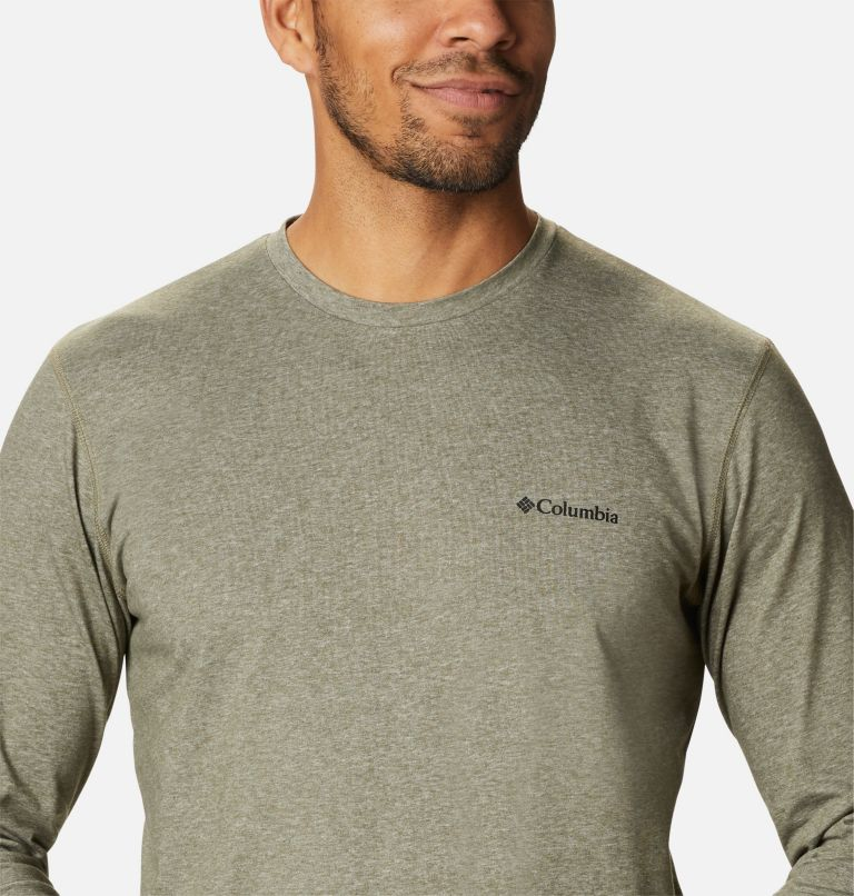 Men's Thistletown Park™ Long Sleeve Crew Neck Shirt Men's Thistletown Park™ Long Sleeve Crew Neck Shirt, a2