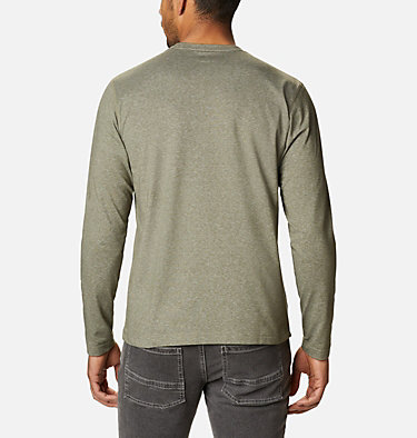 Men's Thistletown Park™ Long Sleeve Crew Neck Shirt Thistletown Park™ Long Sleeve Crew | 467 | XXL, Stone Green Heather, back