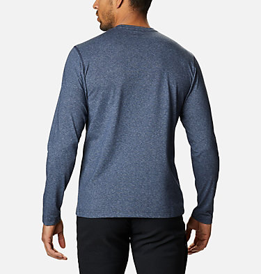 Men's Thistletown Park™ Long Sleeve Crew Neck Shirt Thistletown Park™ Long Sleeve Crew | 467 | XXL, Collegiate Navy Heather, back