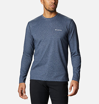 Men's Thistletown Park™ Long Sleeve Crew Neck Shirt Thistletown Park™ Long Sleeve Crew | 467 | XXL, Collegiate Navy Heather, front