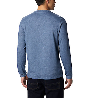 Men's Thistletown Park™ Long Sleeve Crew Neck Shirt Thistletown Park™ Long Sleeve Crew | 467 | XXL, Dark Mountain Heather, back