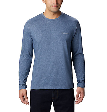 Men's Thistletown Park™ Long Sleeve Crew Neck Shirt Thistletown Park™ Long Sleeve Crew | 467 | XXL, Dark Mountain Heather, front