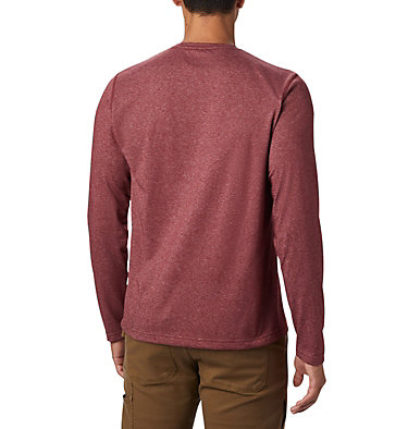 Men's Thistletown Park™ Long Sleeve Crew Neck Shirt Thistletown Park™ Long Sleeve Crew | 467 | XXL, Red Jasper Heather, back