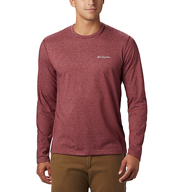 Men's Thistletown Park™ Long Sleeve Crew Neck Shirt Thistletown Park™ Long Sleeve Crew | 467 | XXL, Red Jasper Heather, front