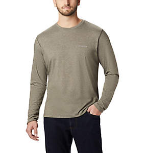 Men's Thistletown Park™ Crew Neck Long Sleeve Shirt - Big