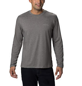 Men's Thistletown Park™ Crew Neck Long Sleeve Shirt - Tall