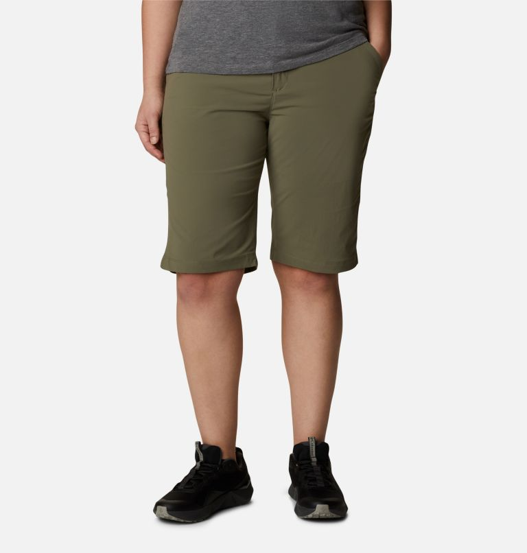 Women's Anytime Outdoor™ Long  Shorts - Plus Size Women's Anytime Outdoor™ Long  Shorts - Plus Size, front