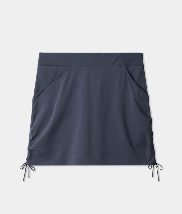Anytime Casual Skort in navy