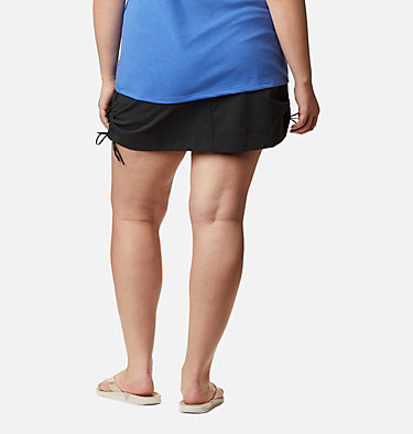 Women's Anytime Casual™ Skort Anytime Casual™ Skort | 023 | 1X, Black, back