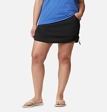 Women's Anytime Casual™ Skort – Plus Size Anytime Casual™ Skort | 671 | 1X, Black, front