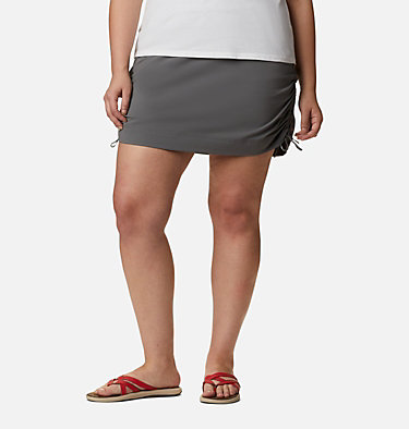 Women's Anytime Casual™ Skort Anytime Casual™ Skort | 023 | 1X, City Grey, front