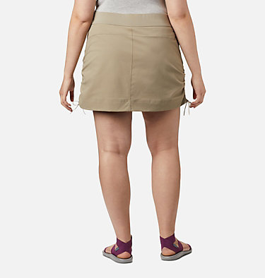 Women's Anytime Casual™ Skort – Plus Size Anytime Casual™ Skort | 671 | 1X, Tusk, back