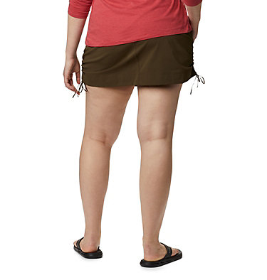 Women's Anytime Casual™ Skort – Plus Size Anytime Casual™ Skort | 671 | 1X, Olive Green, back