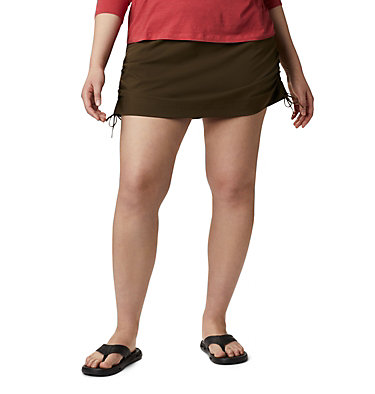 Women's Anytime Casual™ Skort – Plus Size Anytime Casual™ Skort | 671 | 1X, Olive Green, front