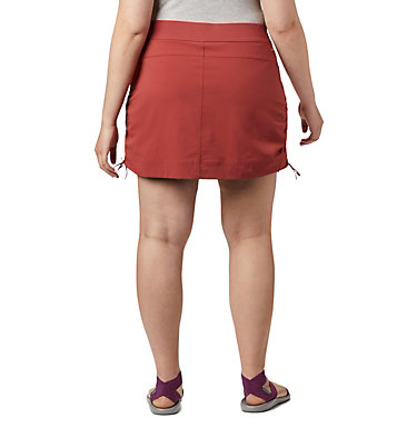 Jupe-short Anytime Casual™ pour femme – Grandes tailles Anytime Casual™ Skort | 023 | 1X, Dusty Crimson, back