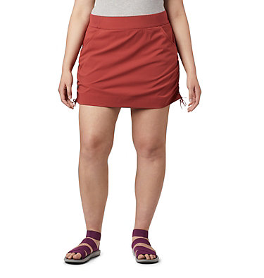 Women's Anytime Casual™ Skort Anytime Casual™ Skort | 023 | 1X, Dusty Crimson, front