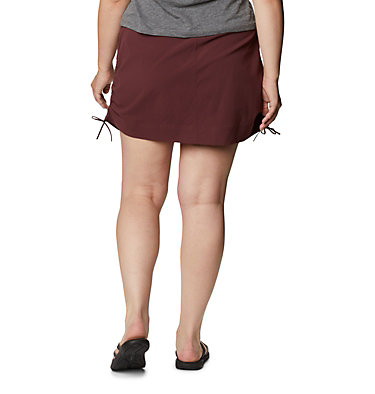 Women's Anytime Casual™ Skort – Plus Size Anytime Casual™ Skort | 671 | 1X, Malbec, back