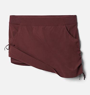 Women's Anytime Casual™ Skort – Plus Size Anytime Casual™ Skort | 671 | 1X, Malbec, front