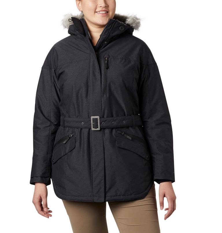 Carson Pass™ II Jacket | 013 | 3X Women's Carson Pass™ II Jacket - Plus Size, Black, front